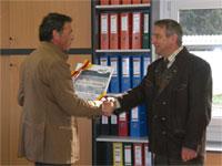 Auszeichnung für die Lehrlingsausbildung