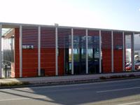Fassadenverkleidung Sparkasse St. Veit an der Glan