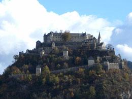 Reparaturarbeiten Burg Hochosterwitz