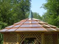 Kupferblechpavillon